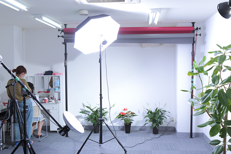 女性経営者専門プロフィール写真撮影「Biz Photo Pro」撮影スタジオ
