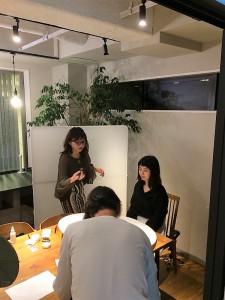 マイナビ就活メイク撮影シーン1