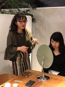 マイナビ就活メイクの撮影6
