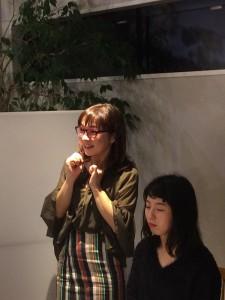 マイナビ就活メイク撮影シーン4