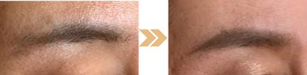 脱おブス眉/美キャリアラボの美眉の描き方