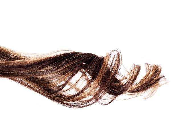 カールしたヘアスタイル